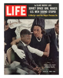 Child and Widow of Murdered Civil Rights Activist Medgar Evers at his Funeral, June 28, 1963, Photographic Print