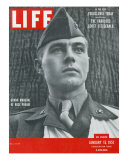 Captain Robert S. Gray, Grand Marshall of Rose Parade, January 15, 1951 Photographic Print by Ed Clark