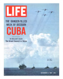 The Danger Filled Week of Decision: Cuba, US Navy Ships and Planes Off Cuba, November 2, 1962 Premium Photographic Print by Robert W. Kelley
