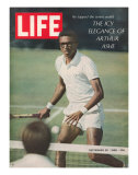Tennis Player Arthur Ashe, September 20, 1968 Impresso fotogrfica premium por Richard Meek