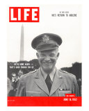 Gen. Dwight D. Eisenhower, June 16, 1952 Photographic Print by Hank Walker