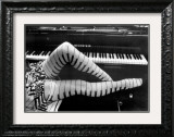 Piano Legs Print by Ben Christopher