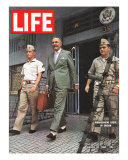 US Ambassador Henry Cabot Lodge in Vietnam, March 20, 1964 Photographic Print by Larry Burrows