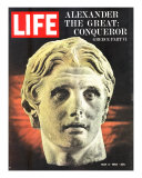 Bust of Alexander the Great, May 3, 1963 Photographic Print by Dmitri Kessel