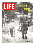 The Other War in Vietnam: To Keep a Village Free, August 25, 1967 Photographic Print by Co Rentmeester