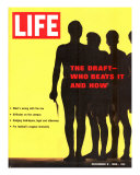The Draft: Who Beats it and How, December 9, 1966 Photographic Print by Yale Joel
