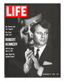 Robert Kennedy, Will He Dare Run in 68, November 18, 1966 Premium Photographic Print by Bill Eppridge