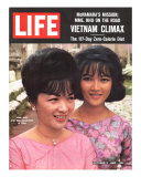 Vietnam's Madame Nhu and Daughter, October 11, 1963 Photographic Print by John Loengard
