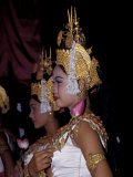 Dancers in Costumes with Gold Hats, Siem Reap, Cambodia Photographic Print by Cindy Miller Hopkins
