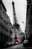 A roupa vermelha Posters