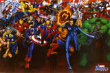 Marvel Heroes Affiches