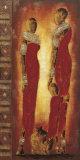 Femmes Massai Posters av  Johanna