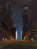 Manhattan by Night Posters by Daniel Castan