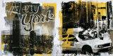 New York Radio Ciy Poster by Daniele Allard