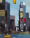 On Broadway Prints by Daniel Castan