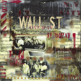 Wall Street Station Poster von Vincent Gachaga