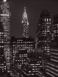 Chrysler Building at Night, Manhattan Prints by Michel Setboun