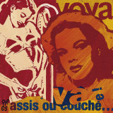 Ou Couche Posters by Paul Raynal