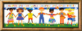 Children Love the World Poster by Cheryl Piperberg