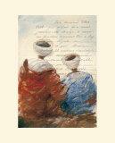 Bedouins Assis II (Etude) Posters by Yann Letestu