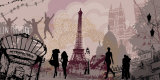 Paris with Love Affiches par Farkas