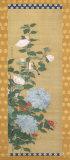 Bird and Flowers Posters by Ko Sukoku