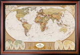 World Antique Map Prints