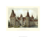 Petite French Chateaux IV Premium Giclee Print by Victor Petit