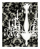 Patterned Chandelier I Prints by Ethan Harper