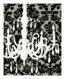 Patterned Chandelier II Giclee Print by Ethan Harper