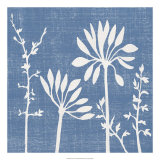 Blue Linen IV Prints by Megan Meagher