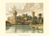 Warwick Castle Prints by Paul Sandby