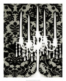 Patterned Candelabra I Poster by Ethan Harper