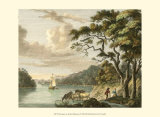 Dromana on the River Blackwater Poster by Paul Sandby