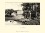 View of Frogmore Print by James Hakewill