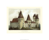 Petite French Chateaux I Premium Giclee Print by Victor Petit