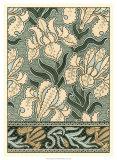 Garden Tapestry II Giclee Print by Eugene Grasset