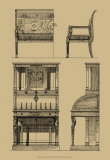 French Empire Furniture I Prints