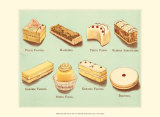 Fanciful Cakes and Tarts I Posters