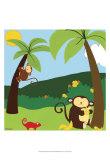 Jungle Jamboree II Plakater af Erica J. Vess