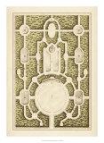 Garden Maze I Giclée-Druck von Jacques-francois Blondel