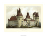 French Chateaux I Premium Giclee Print by Victor Petit