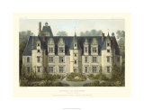French Chateaux III Premium Giclee Print by Victor Petit