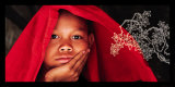 Enfance Birmane Affiches par Olivier Föllmi