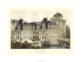 French Chateaux V Premium Giclee Print by Victor Petit