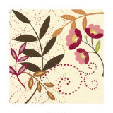 Berry Blossom I Premium Giclee Print
