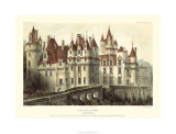 French Chateaux VII Premium Giclee Print by Victor Petit