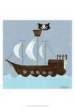 Ahoy! Kunstdrucke von Erica J. Vess
