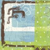 Bathroom Bubbles III Print