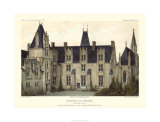 French Chateaux VIII Premium Giclee Print by Victor Petit